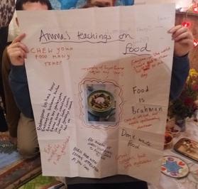 Amma's Teachings on Food